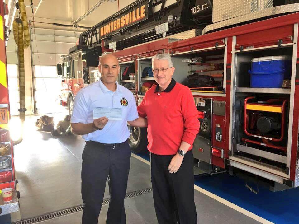 ROTARY CLUB VISITS STATION 1