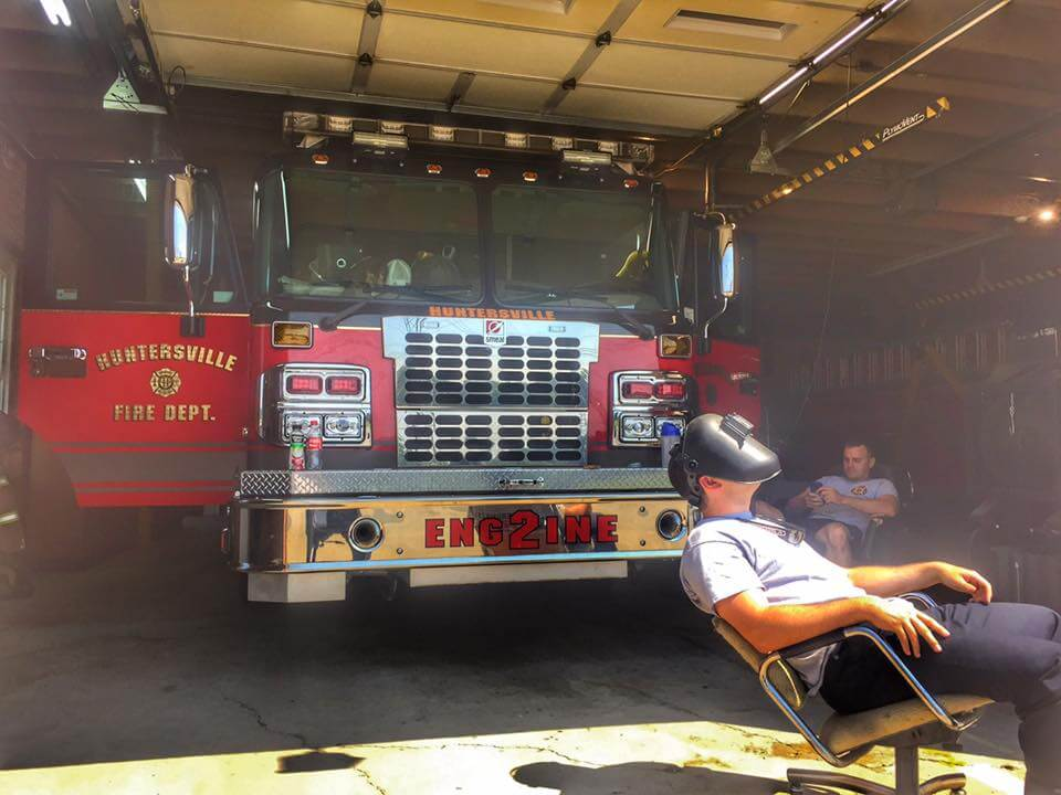 HOW STATION 2 WATCHED THE ECLIPSE