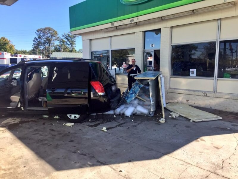 MVA AT BP GAS STATION