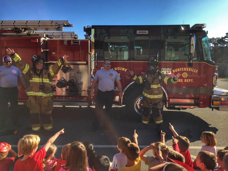 STATION 1 VISITS GRAND OAK ELEMENTARY