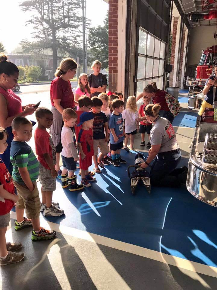 LAKESIDE PREPARATORY VISITS STATION 1