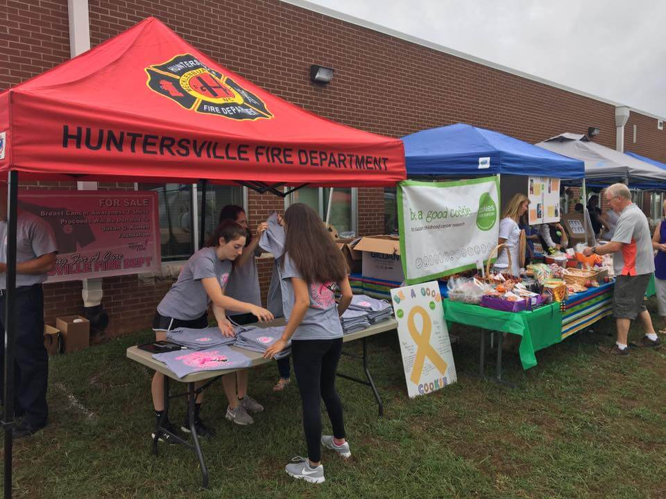 ANNUAL HUNTERSVILLE FALL FESTIVAL