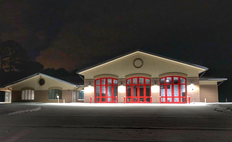 STATION 4 IN THE SNOW
