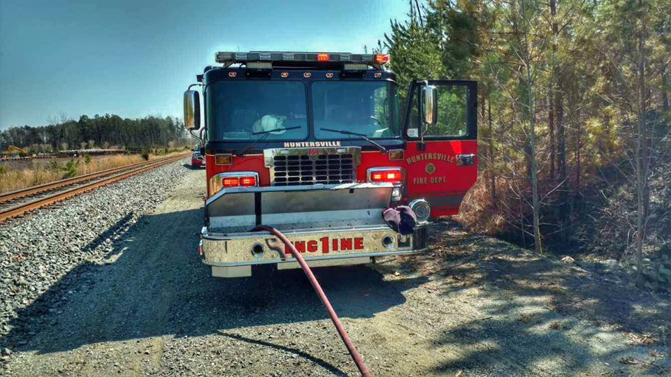BRUSH FIRE IN STATION 1'S DUE