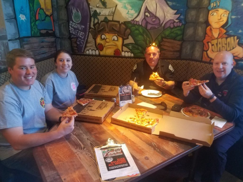 PIZZA BATTLE TO BENEFIT D.A.R.E.