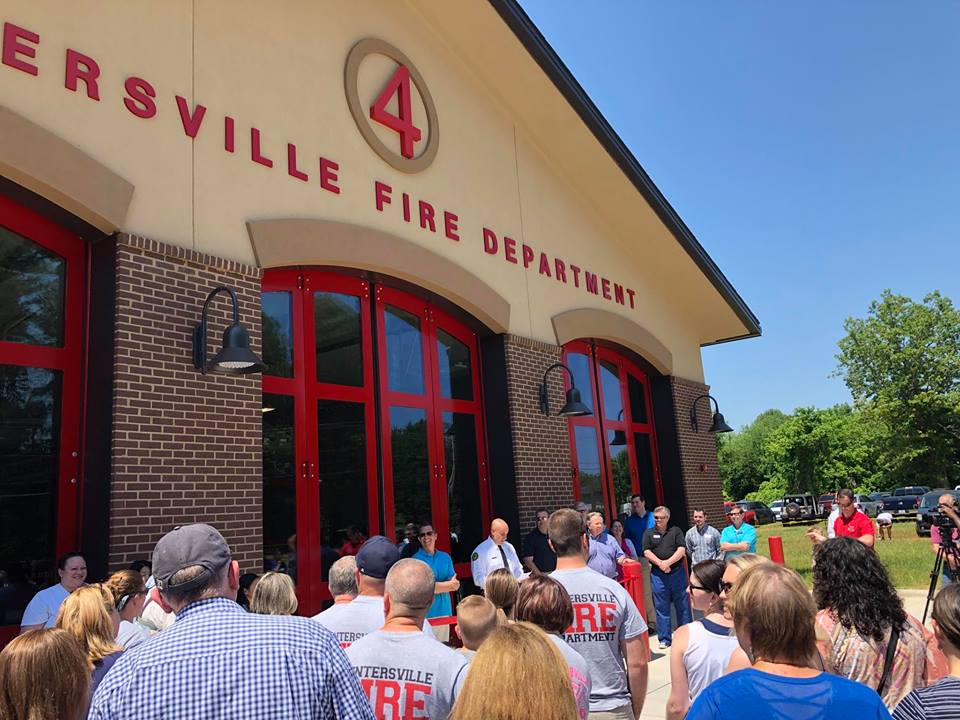 NEW STATION 4 RIBBON CUTTING AND OPEN HOUSE
