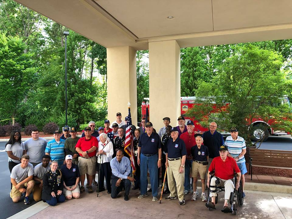 ENGINE 1 VISITS VETERANS EMBARKING ON HONOR FLIGHT