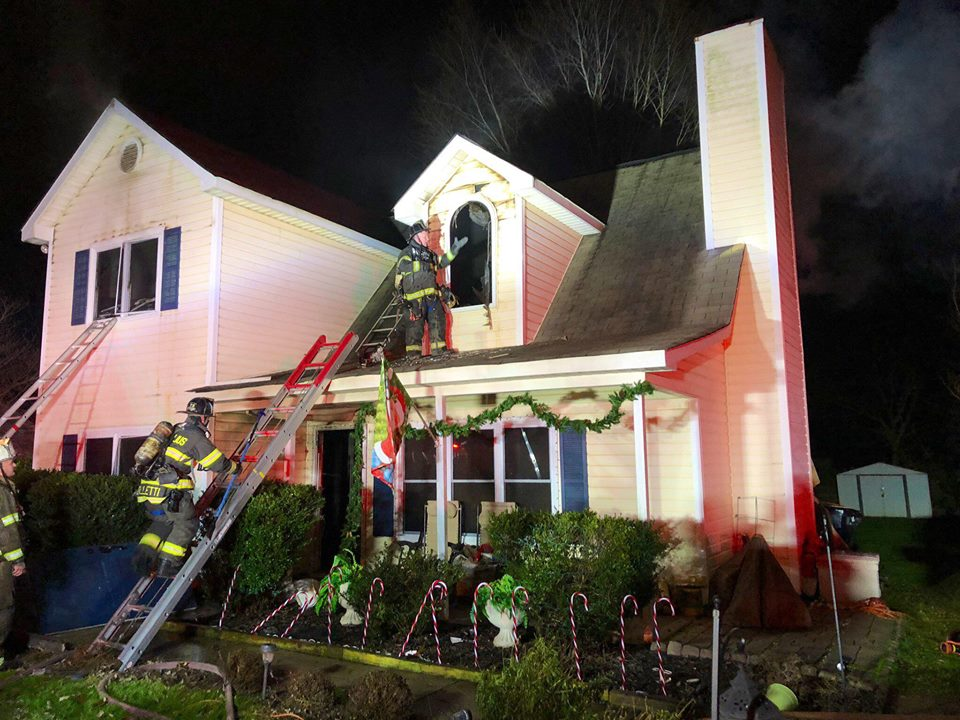 ANOTHER WORKING HOUSE FIRE