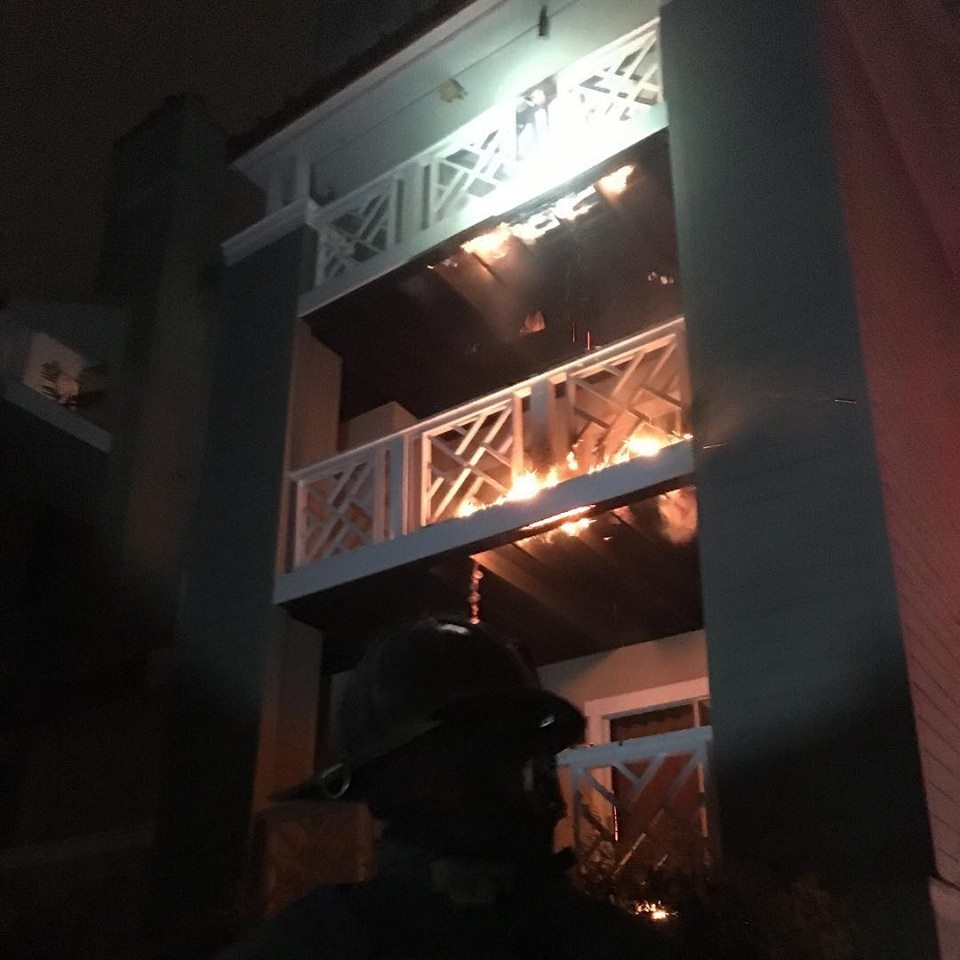 WORKING CONDO FIRE – CORNELIUS
