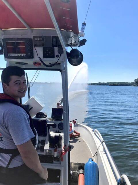 FIRE BOAT CHECK OFF FOR MEMORIAL DAY