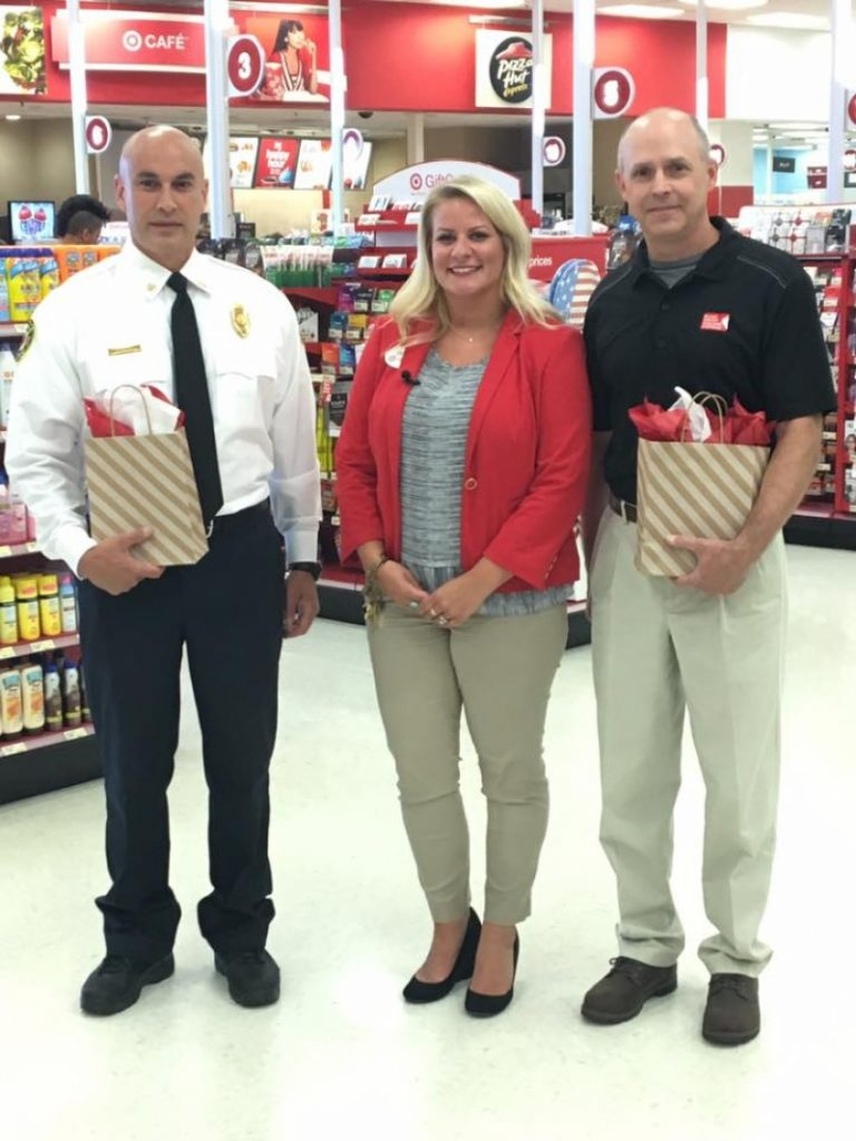 TARGET GIVES HFD A GIFT CARD