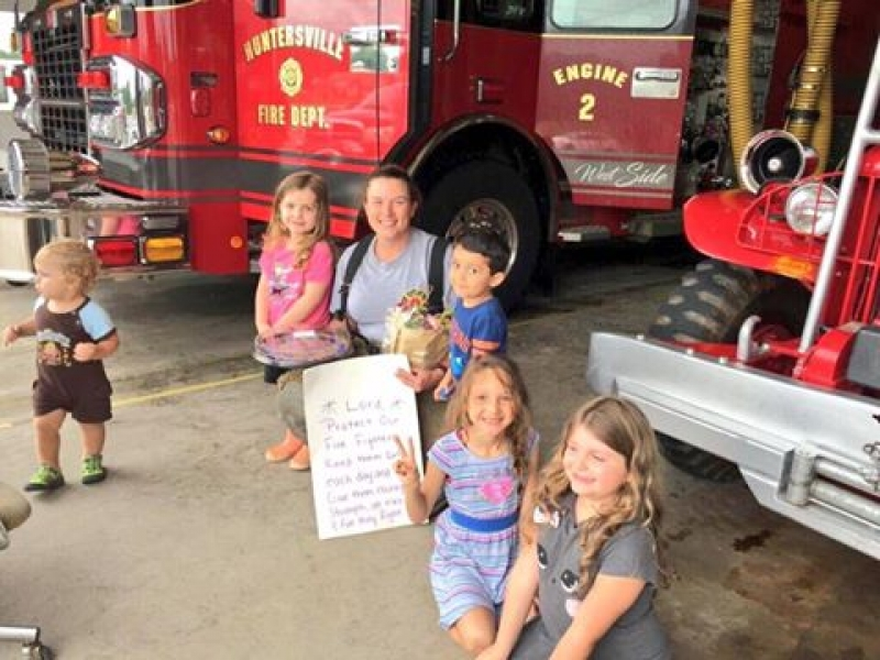 GIRL SCOUTS THANK FF APRILL