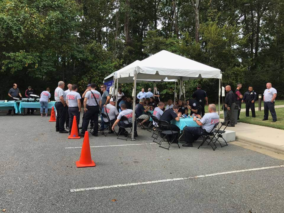 JGR PROVIDES LUNCH FOR VILLE RESPONDERS