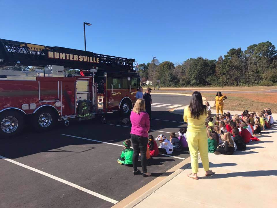 STATION 1 VISITS LAKE NORMAN CHARTER ELEMENTARY