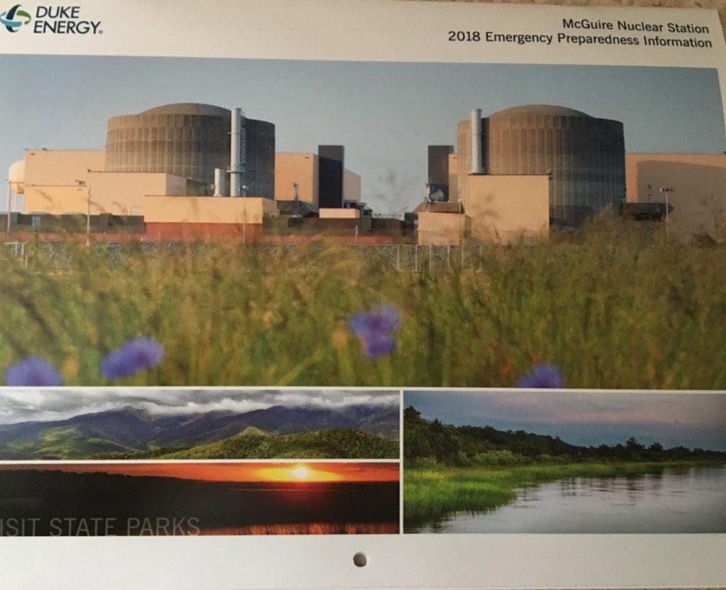 DUKE ENERGY EMERGENCY PREPAREDNESS CALENDAR