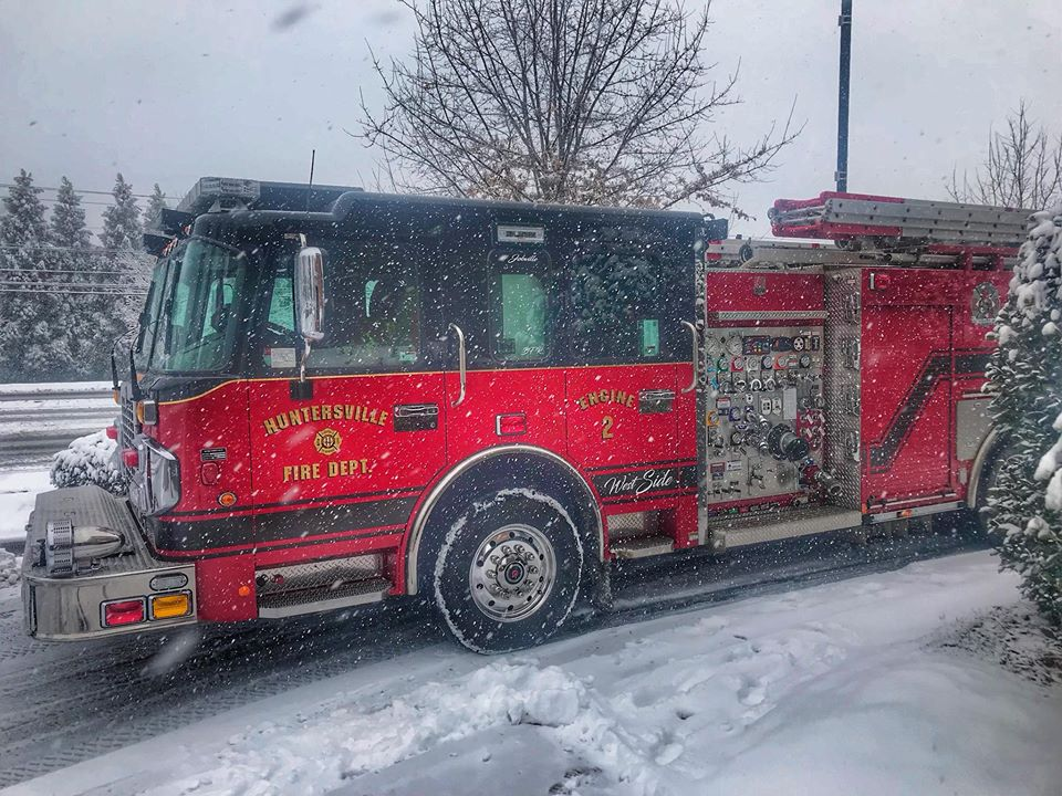 ENGINE 2 IN THE SNOW