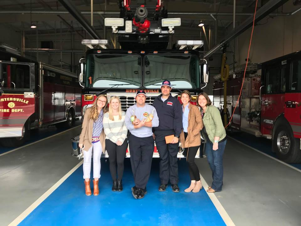 COOKIES FOR KIDS CANCER VISITS STATION 1