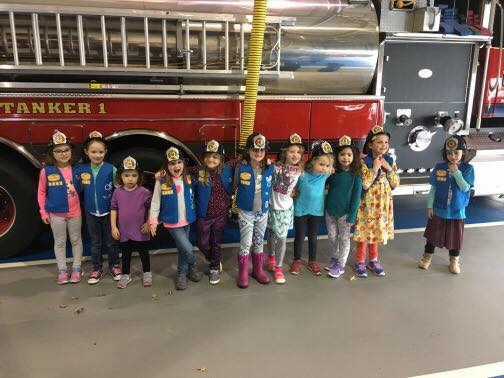 DAISY TROOP 3207 VISITS STATION 1