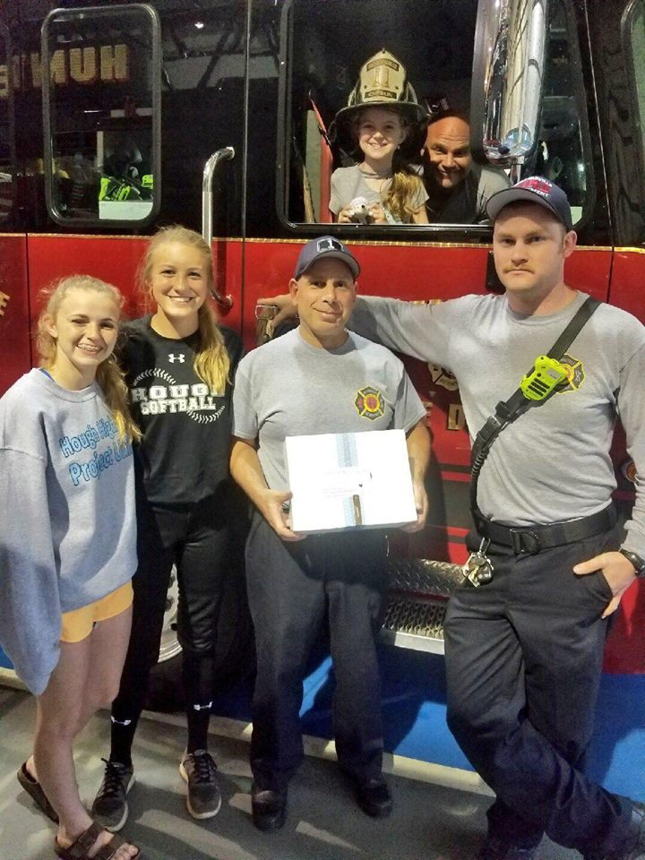 TREON FAMILY VISITS STATION 1