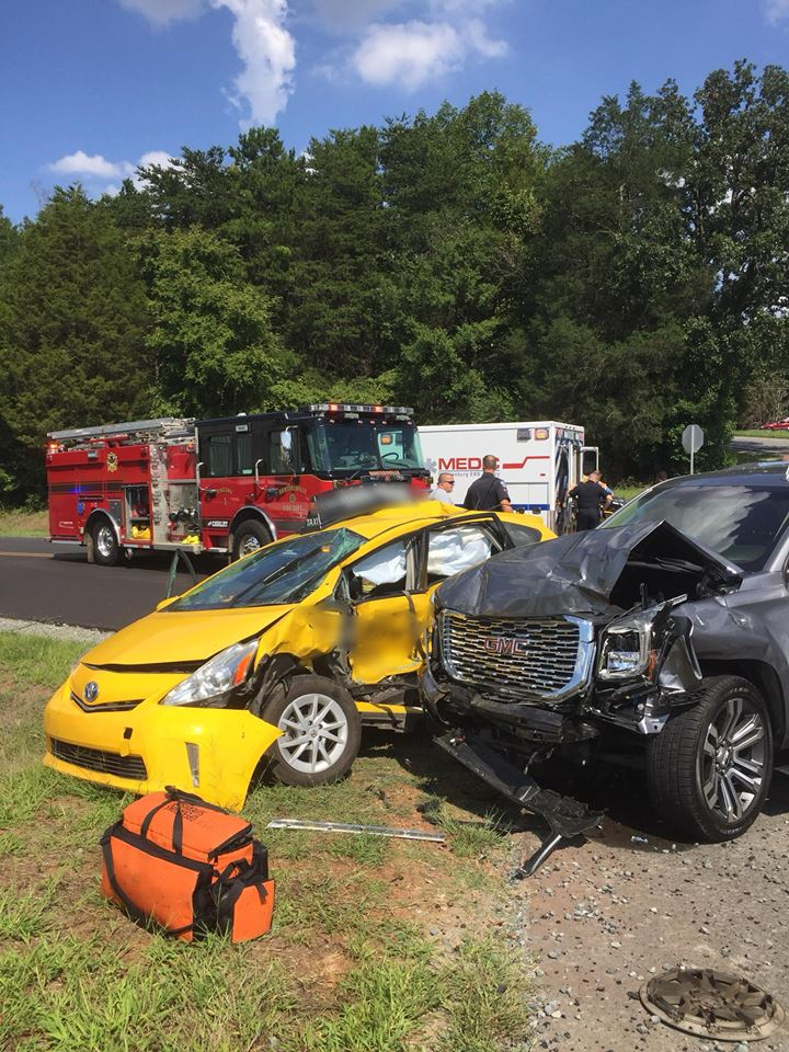 SERIOUS MVA ON MT HOLLY-HUNTERSVILLE ROAD