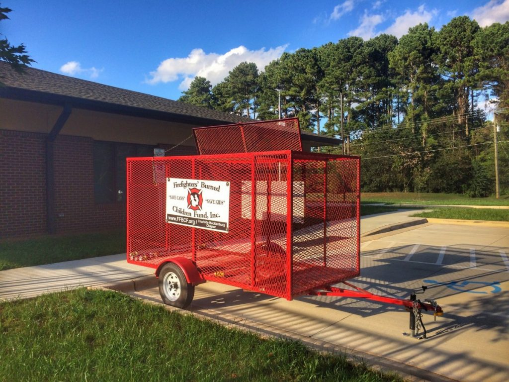 FFBCF CAN TRAILER NOW SET UP AT STATION 4