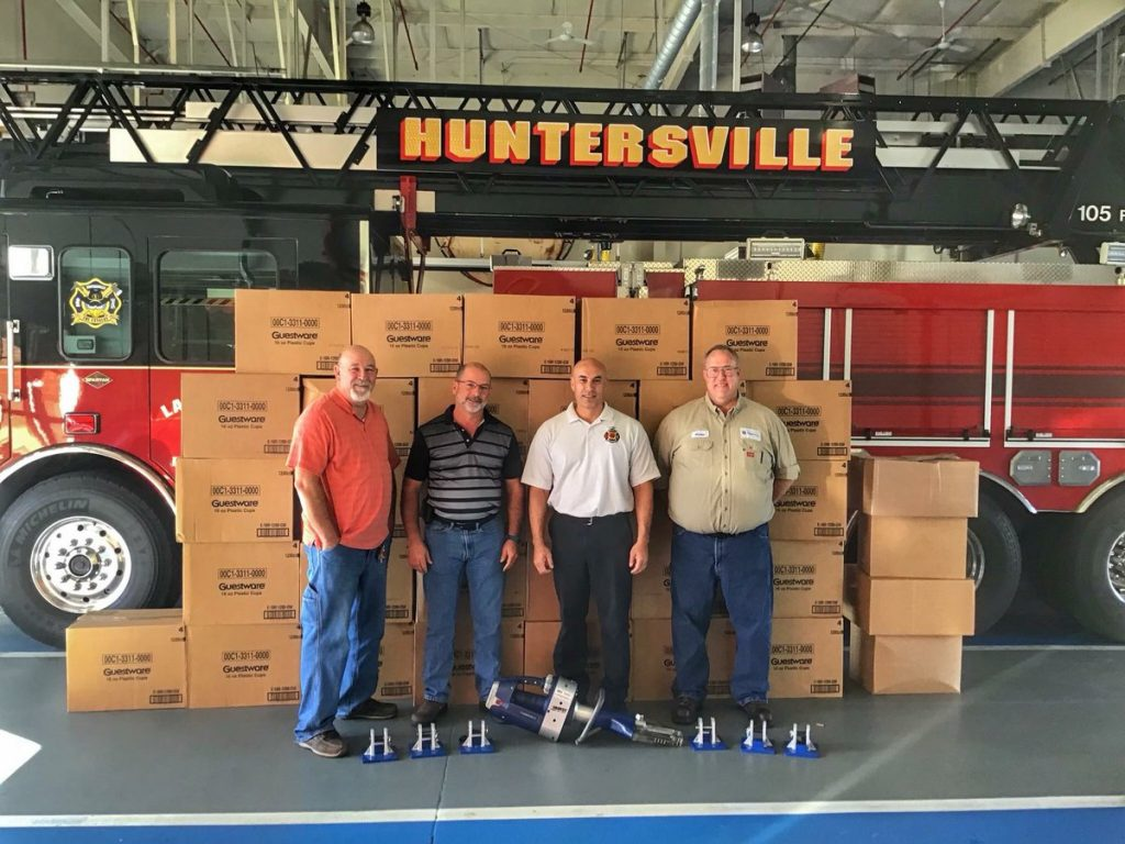 PACTIV DONATES TO HFD