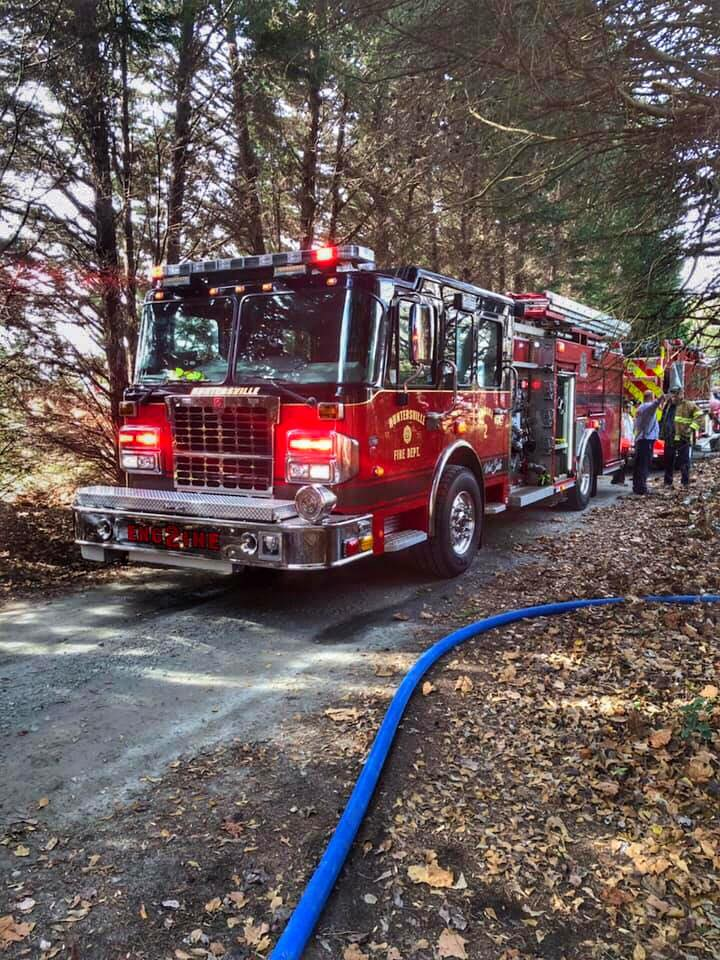 STATION 2 RUNS A WORKING FIRE IN LINCOLN COUNTY