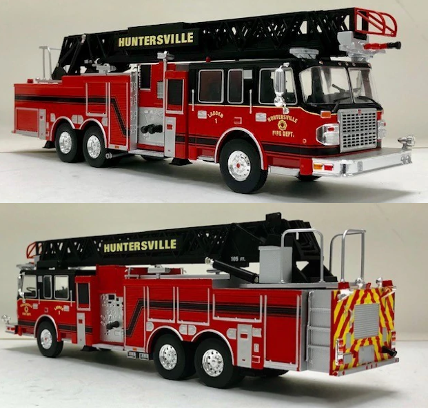 DIECAST MODEL OF OUR LADDER 1!