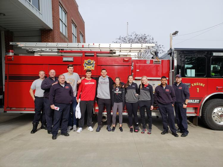 DAVIDSON COLLEGE VISITS STATION 1