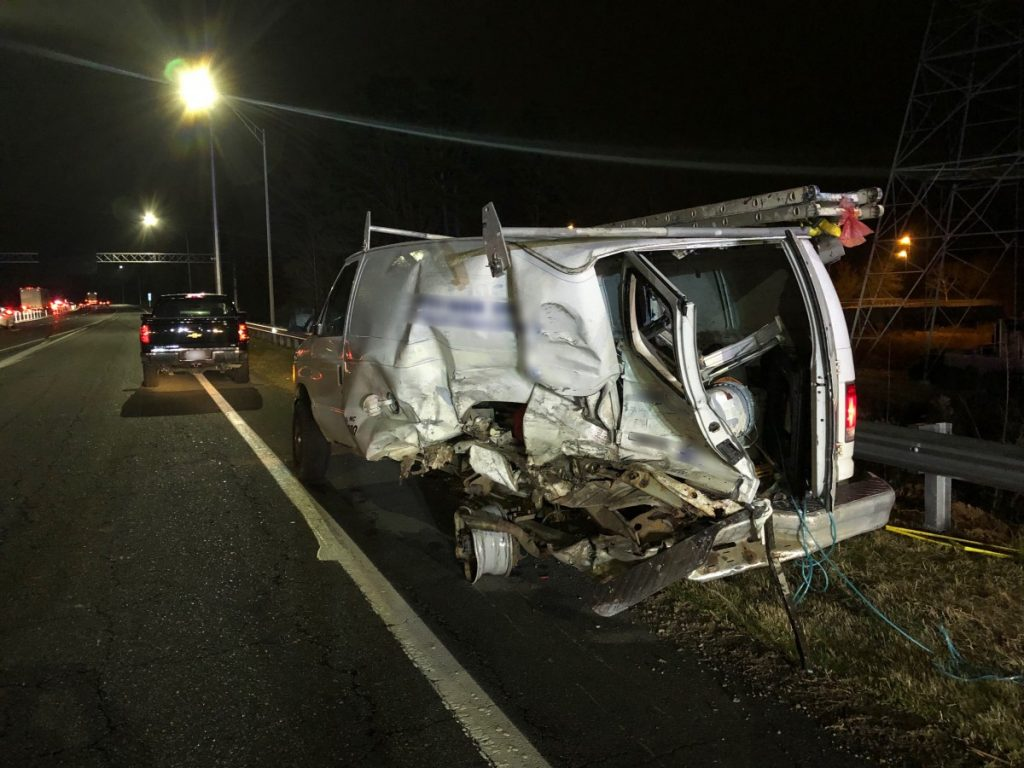 TWO SERIOUS ACCIDENTS OVERNIGHT