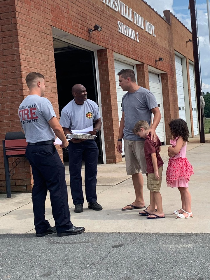 A SPECIAL VISIT AT STATION 2