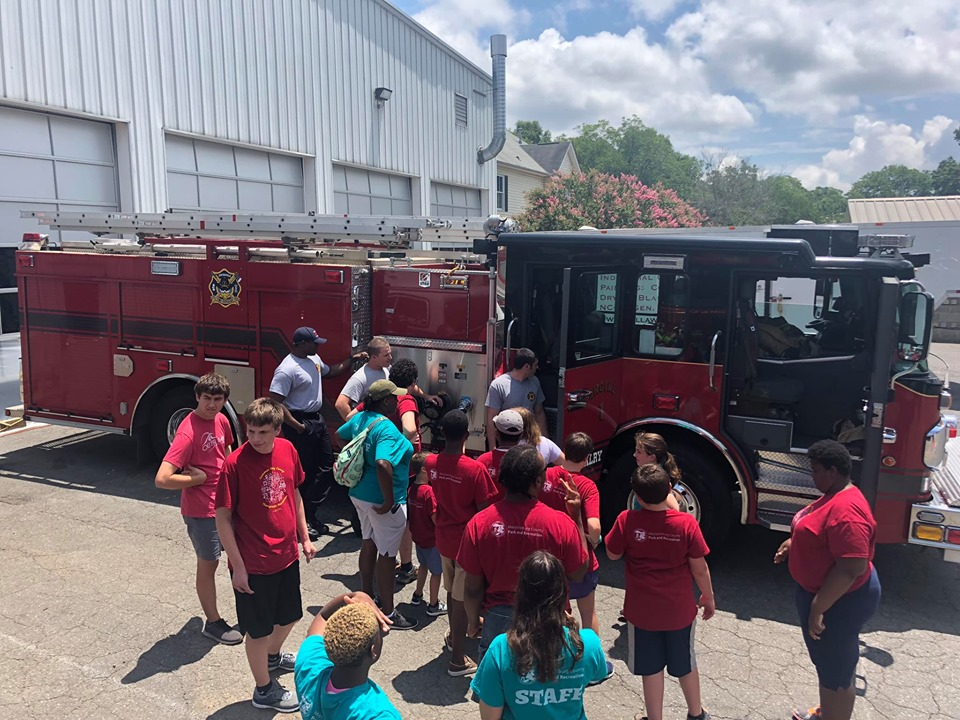 OUR DELLWOOD FRIENDS VISIT STATION 1
